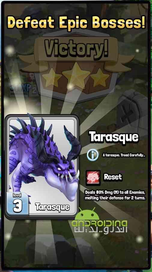 دانلود Dragonstone: Kingdoms 1.1.7 بازی سنگ اژدها: پادشاهی اندروید 3
