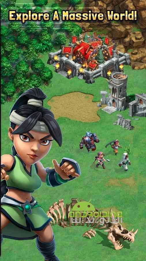 دانلود Dragonstone: Kingdoms 1.1.7 بازی سنگ اژدها: پادشاهی اندروید 4