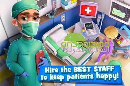 Dream Hospital – Health Care Manager Simulator - بازی بیمارستان رویایی