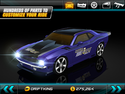 دانلود Drift Mania: Street Outlaws 1.18 بازی ماشین سواری دریفت خیابانی اندروید 1