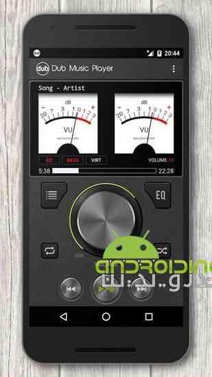Dub Music Player | موزیک پلیر قدرتمند اندروید