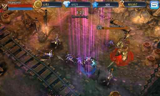 بازی جنگی و اساطیری Dungeon Hunter 3 v1.0.8 2