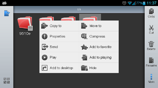 دانلود ES File Explorer File Manager 4.1.6.7.4 مدیریت فایل اندروید 3