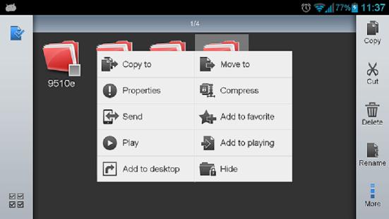 دانلود ES File Explorer File Manager مدیریت فایل اندروید