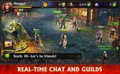 ETERNITY WARRIORS 3 نسخه سوم از این بازی شمشیری یکی از بهترین بازی های RPG در سبک خود