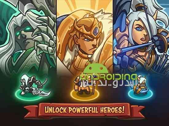 Empire Warriors TD: Defense Battle - بازی جنگجویان امپراطوری: نبرد دفاع