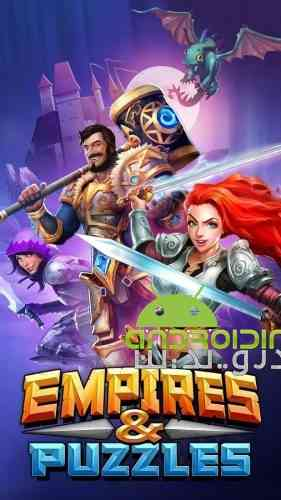 Empires & Puzzles: RPG Quest - بازی پازلی امپراطوری و پازل