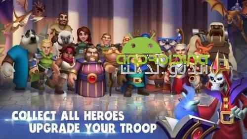 Epic War - Castle Alliance - بازی جنگ حماسی - اتحاد قلعه