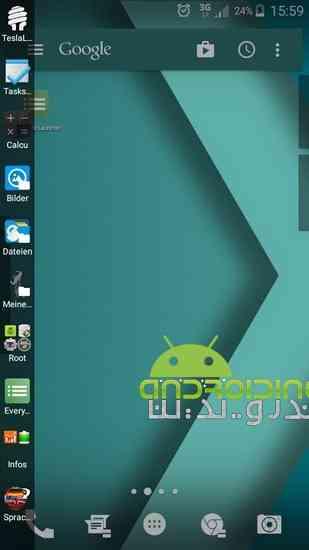 دانلود Everywhere Launcher Pro 0.70b لانچر زیبا و حرفه ای برای اندروید 1