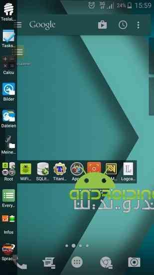دانلود Everywhere Launcher Pro 0.70b لانچر زیبا و حرفه ای برای اندروید 2