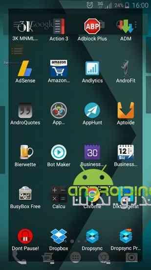 دانلود Everywhere Launcher Pro 0.70b لانچر زیبا و حرفه ای برای اندروید 3