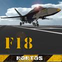 بازی هواپیمای f18 اندروید F18 Carrier Landing v3.0