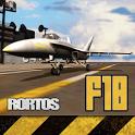 دانلود  F18 Carrier Landing v5 بازی هواپیمای f18 اندروید