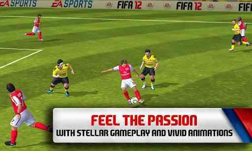 دانلود FIFA 12 v1.3.98 بازی زیبای فوتبال فیفا 12 اندروید محصول EA GAMES 2