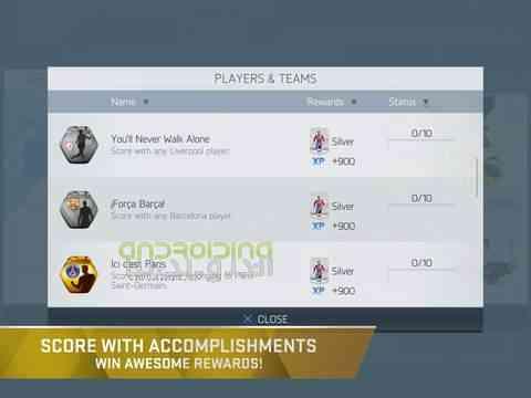 دانلود FIFA 16 Ultimate Team 3.2.113645 بازی فیفا 16 اندروید 4