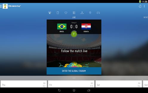 FIFA | برنامه رسمی فیفا برای گوشی های اندرویدی