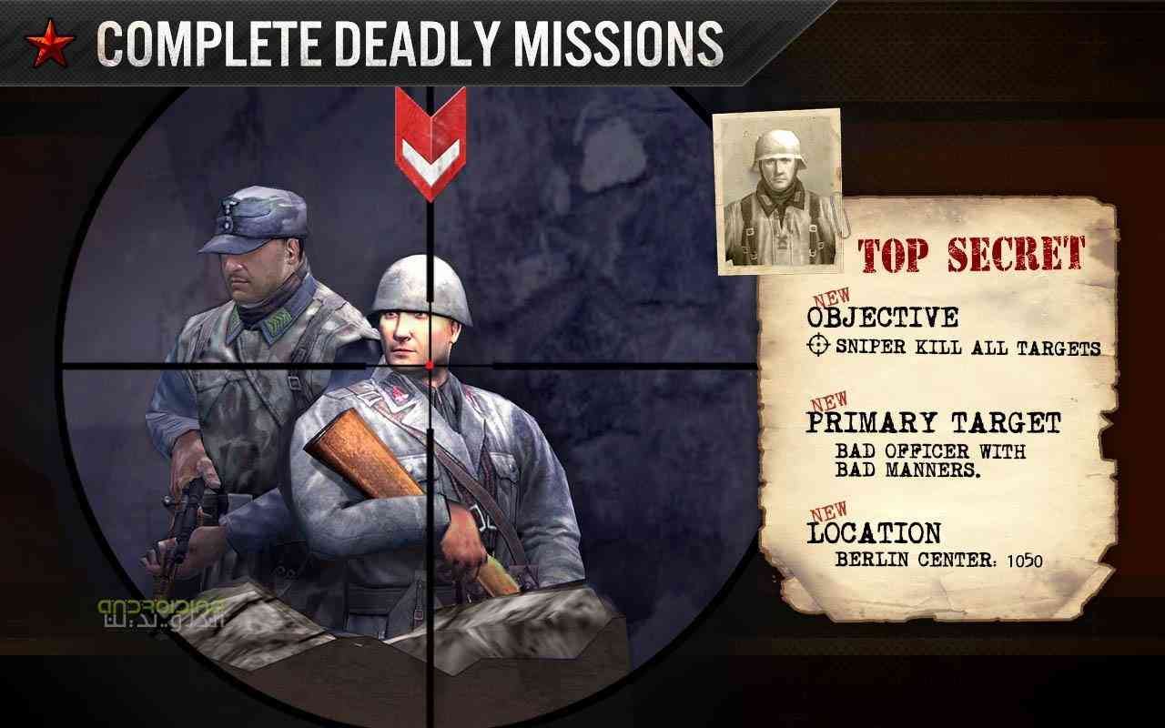 دانلود FRONTLINE COMMANDO WW2 3.0.2 بازی مبارزه در جنگ جهانی اندروید 1