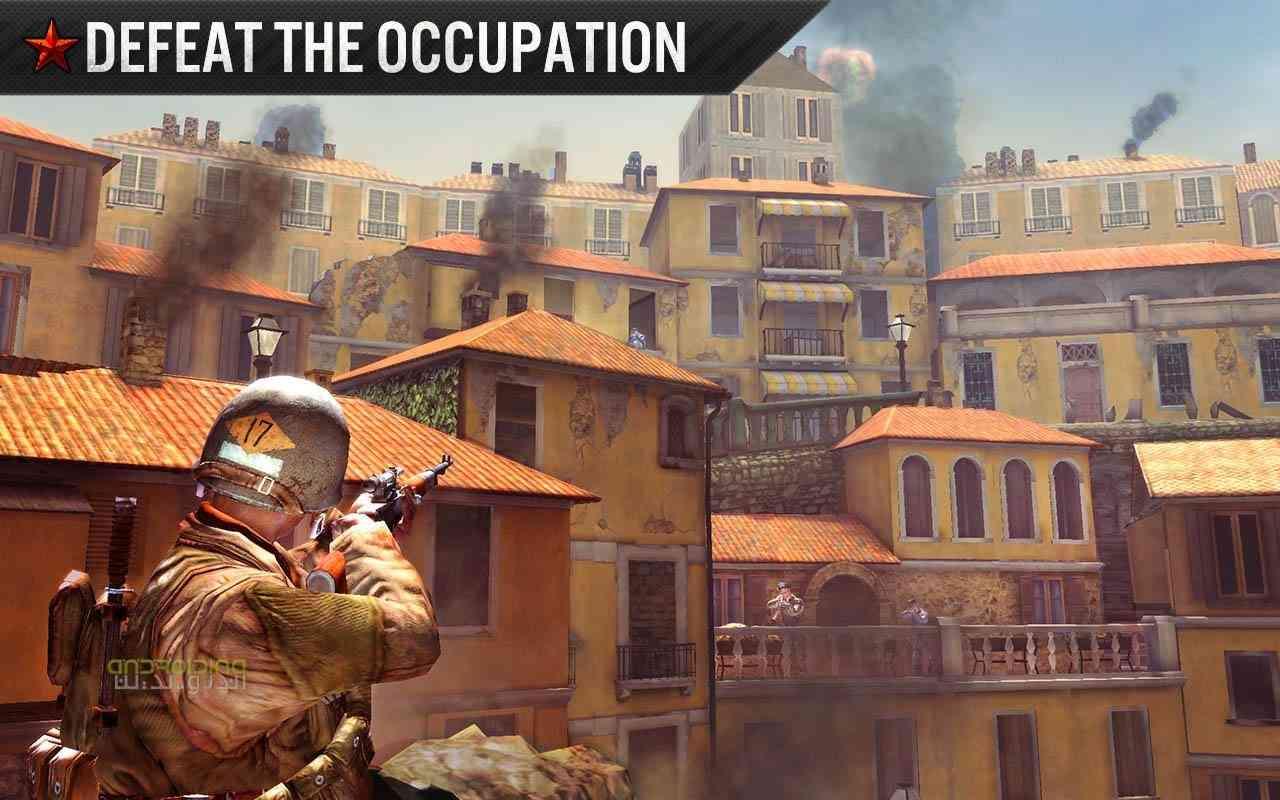 دانلود FRONTLINE COMMANDO WW2 3.0.2 بازی مبارزه در جنگ جهانی اندروید 3
