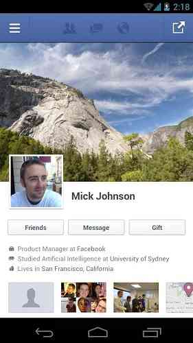 Facebook | برنامه رسمی شبکه اجتماعی فیس بوک اندروید