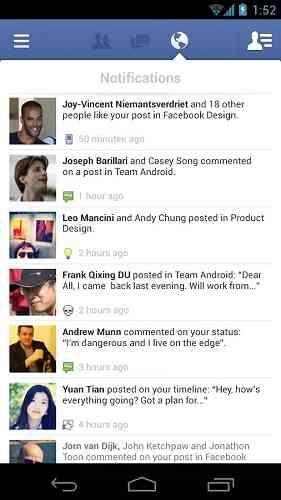 دانلود فیسبوک Facebook 129.0.0.0.49 برنامه شبکه اجتماعی فیس بوک اندروید 2