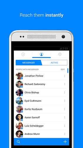 Facebook Messenger | مسنجر پیشرفته فیس بوک