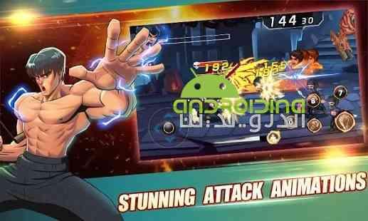 Fighting King 3:Kungfu champion - بازی مسابقه ای موتورهای جی ایکس