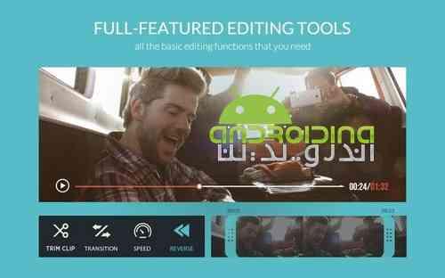 دانلود FilmoraGo – Free Video Editor Pro 3.1.1 ویرایشگر حرفه ای ویدئو ها 4