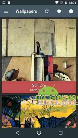 دانلود FineArtWall – unique wallpaper 2.2.1 تصاویر زمینه زیبا و هنری برای اندروید 3