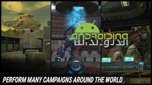 Fire Sniper Combat: FPS 3D Shooting Game - بازی مبارزه آتشین تک تیرانداز