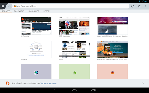 دانلود Firefox Browser for Android 54.0 فایرفاکس اندروید 1