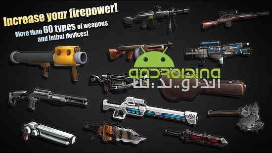 دانلود Flat Army: Sniper War 1.12.18 بازی ارتش تخت: جنگ تک تیرانداز اندروید 3