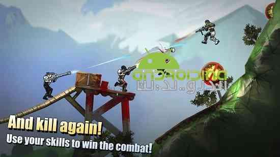 دانلود Flat Army: Sniper War 1.12.18 بازی ارتش تخت: جنگ تک تیرانداز اندروید 4