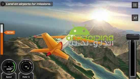 Flight Pilot Simulator 3D - بازی شبیه سازی پرواز خلبان