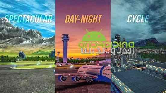 Flight Sim 2018 - بازی شبیه ساز پرواز 2018