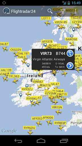 دانلود Flightradar24 Pro v3.7.0 نمایش ترافیک هوایی 2