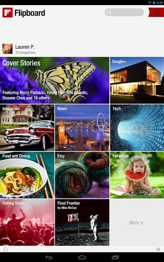 Flipboard: Your News Magazine | تجربه ای جدید از آن چیزی که مجله می نامیم