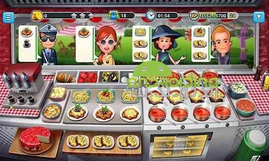 دانلود Food Truck Chef 1.1.8 بازی کامیون سرآشپز غذا اندروید 3
