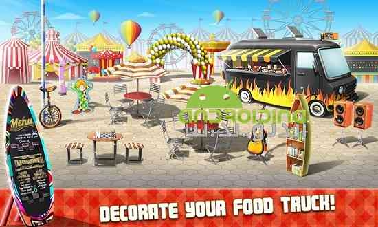 دانلود Food Truck Chef 1.1.8 بازی کامیون سرآشپز غذا اندروید 4