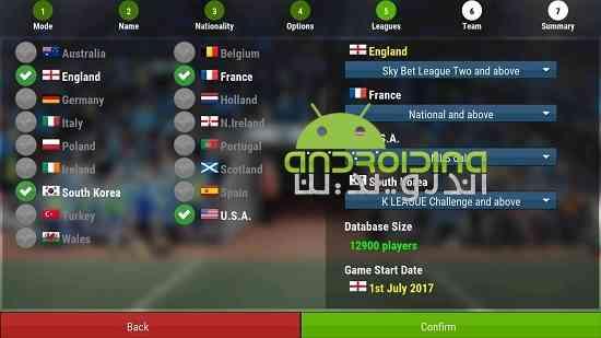 دانلود Football Manager Mobile 2018 9.0.1 بازی مدیر فوتبال 2018 اندروید 2