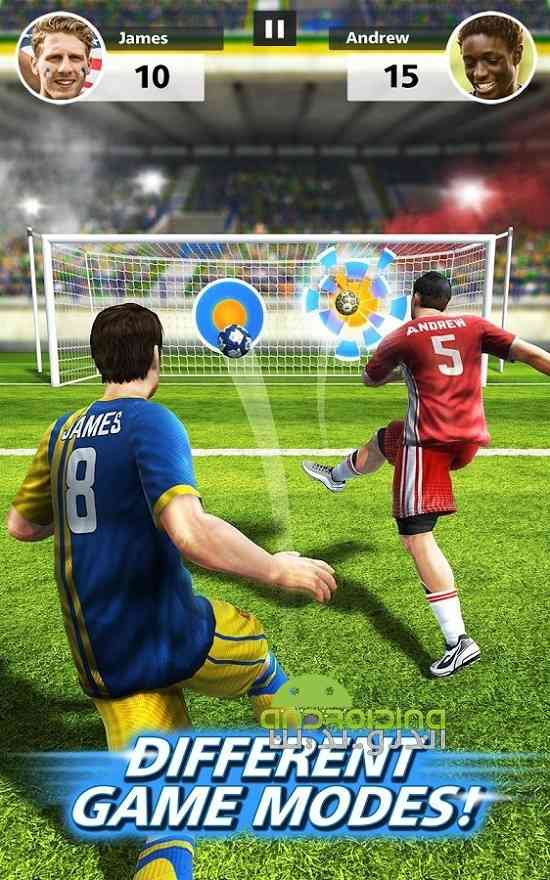 دانلود  Football Strike 1.1.0 بازی ورزشی ضربات فوتبالی اندروید 3