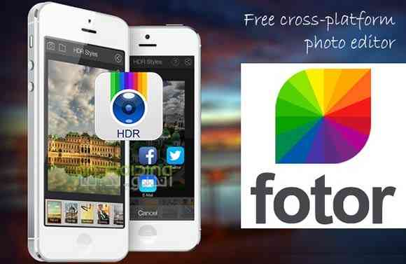 Fotor Photo Editor Premium - نرم افزار ویرایش عکس فوتور
