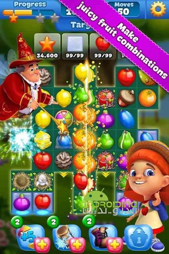دانلود فوروت لند Fruit Land 1.110.0 بازی سرزمین میوه ها اندروید 1