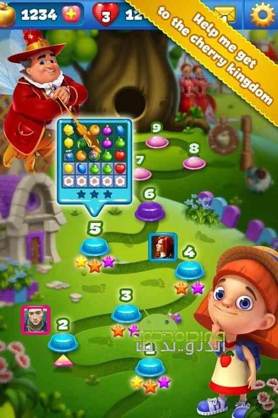 دانلود فوروت لند Fruit Land 1.110.0 بازی سرزمین میوه ها اندروید 2