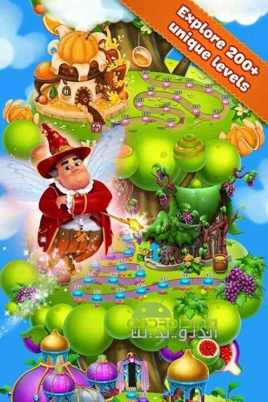 دانلود فوروت لند Fruit Land 1.110.0 بازی سرزمین میوه ها اندروید 4