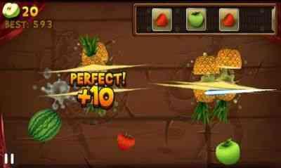 بازی جالب تکه کردن میوه ها Fruit Slice v1.3.8 2