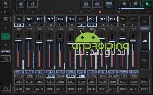 دانلود G-Stomper Studio 5.4.0.9 استودیو حرفه ای ساخت موسیقی اندروید 1