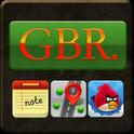 تم زیبای GBR مخصوص GO LauncherEX Theme