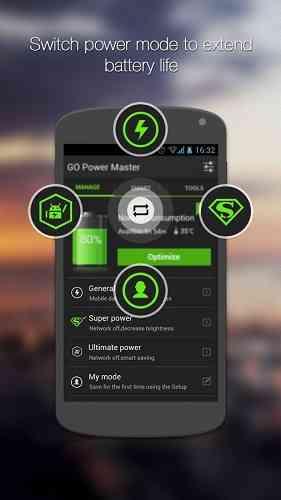دانلود  GO Battery Saver &Power Widget v4.31.1 مدیریت باطری
