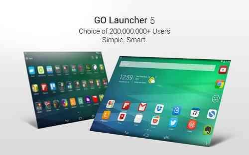 دانلود GO Launcher EX Prime لانچر قدرتمند GO برای اندروید