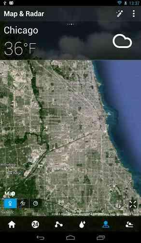 دانلود GO Weather Forecast 6.005 برنامه مشاهده اب و هوا اندروید 3